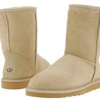Sand Classic Short UGG Boots [5825 Sand] - $76.69 :