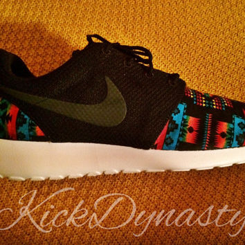 Tribal Aztec Nike Roshe Run Custom Sneakers