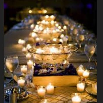 72 candles and votives