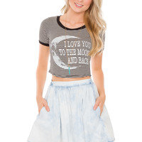 Alaysia Acid Wash Denim Skirt