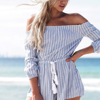 Malia Stripe Playsuit