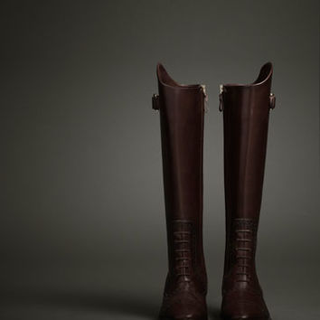 LIMITED EDITION LACE-UP BOOT - WOMEN - THE EQUESTRIAN - United Kingdom