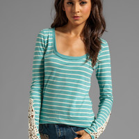 Free People Hard Candy Cuff Top in Blue Combo from REVOLVEclothing.com