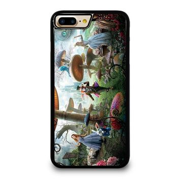 ALICE IN WONDERLAND Disney iPhone 4/4S 5/5S/SE 5C 6/6S 7 8 Plus X Case