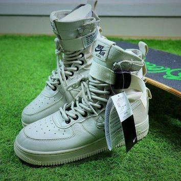 VON3TL Nike Special Forces Air Force 1 SF AF1 Beige Boots Shoes Sneaker