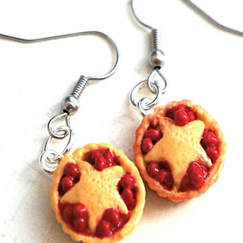 Cherry Pie Dangle Earrings
