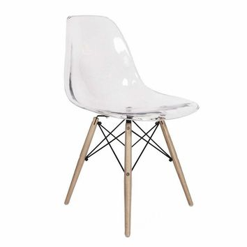 Inspired by the Eiffel Clear/Transparent Chair