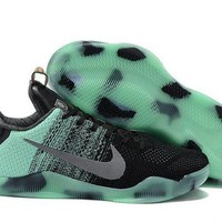 DCCKL8A Jacklish Nike Kobe 11 All-star Green Glow/black Glow In The Dark