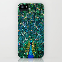 :: Peacock Caper :: iPhone & iPod Case by GaleStorm Artworks