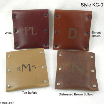 Handmade Leather Wallet - FREE MONOGRAMMING