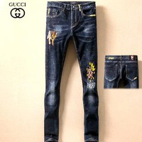 Gucci Fashion Men Pants Jeans