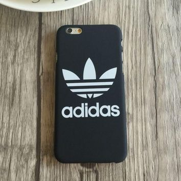 ESBONPR Trendy Adidas Print Black & White Iphone 5 5s SE 6 6s 6plus 6splus 7 7plus Cover Case