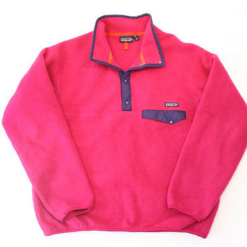 Vintage Patagonia Pullover Fleece Jacket Sz XL USA