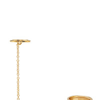 FOREVER 21 Chained Midi Ring Set