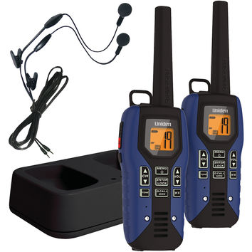 UNIDEN GMR5095-2CKHS 50-Mile 2-Way FRS/GMRS Radios (Blue)