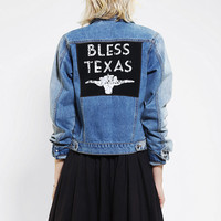 Somedays Lovin Texas Denim Jacket - Urban Outfitters