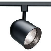 1-Light PAR20 Short Bullet Cylinder Track Lighting Head