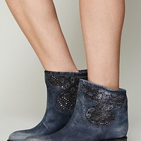 Free People Crochet Coyote Boot