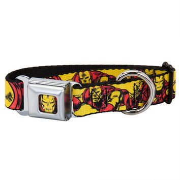 Iron Man - Body Action Repeat Dog Collar