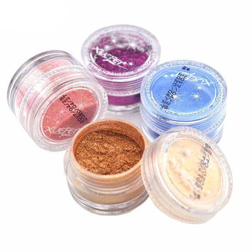 20 Mineral Pigment Colors Shimmer Matte Eyeshadows Powders
