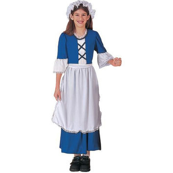 Girl's Costume: Little Colonial Miss Cos | Small