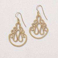 Ancora Earrings by Made Gold One Size Earrings