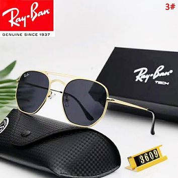 Ran Ban Fashion New Polarized Women Men Sun Protection Glasses Eyeglasses 3#