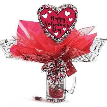 Valentine's Day Stein with Balloon