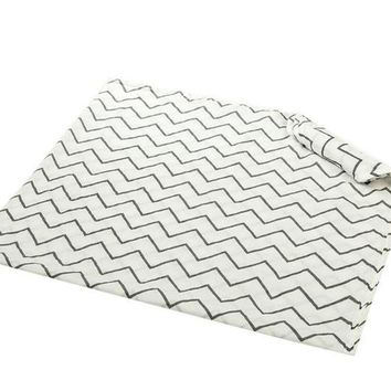 Muslin Baby Swaddle Blanket - Solid Pattern - 100% Cotton