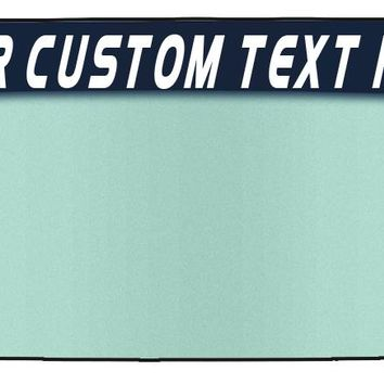 Customized Text Vinyl Windshield Banners-YOUR PERSONALIZED TEXT