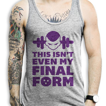 This Isn't Even My Final Form - Nerdy Fitness Tank Top, Fitness Tank, Workout Tank, Nerdy Shirt, Anime Shirt, Dragon Ball Z Shirt,