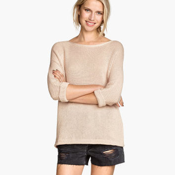 H&M Purl-knit Sweater $24.95