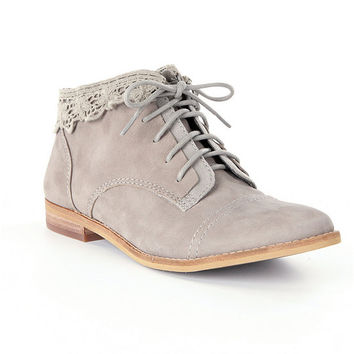 GB Young-Hearts Lace-Up Booties | Dillards