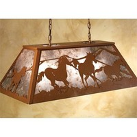Wild Horses Billiard Lamp - Lighting - Home