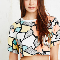 BDG Jolt Geo Crop Top - Urban Outfitters
