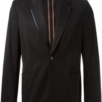 Paul Smith contrasting trim jacket