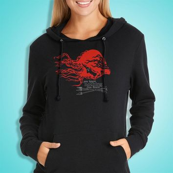 You Know Nothing Jon Snow Off The Shoulder Slouchy Women'S Hoodie