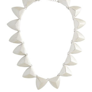 Triangle Collar Necklace in Grey/Black - BCBGeneration