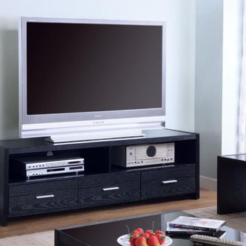 Coaster Fine Furniture Tv Console Black 700645
