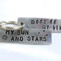 Moon of My Life My Sun and Stars Key Chain Set - Game of Thrones | foxwise - Accessories on ArtFire