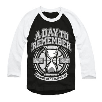A Day To Remember: 2nd Sucks Baseball Tee (Black)