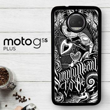 Jack And Sally Muertitos The Nightmare Before Christmas F0874  Motorola Moto G5S Plus Case
