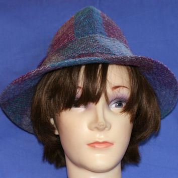 100% virgin wool Irish Millars hat, made in Ireland/Walking hat Fedora