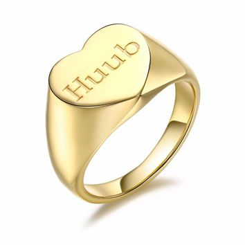 a0e3d3d5b588c Shop Gold Name Rings Personalized on Wanelo