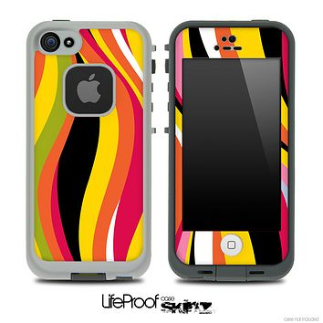 Colorful Wild Skin for the iPhone 5 or 4/4s LifeProof Case