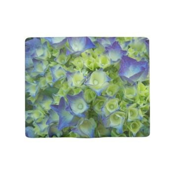 Hydrangea Buds Floral Photo Large Moleskine Notebook