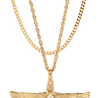 Mister  Riri Necklace - Gold