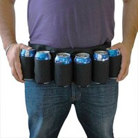 BEER BELT - 6 Pack Holster