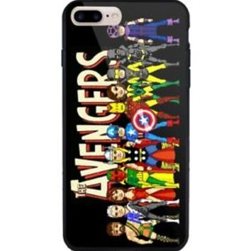 Marvel Avengers Character Case For iPhone 5 5s 6 6s 7 8 X Plus Samsung Note Edge