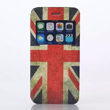 Union Jack Case Cover for iPhone 6S 6 Plus Samsung Galaxy S6-170928
